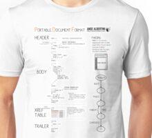a mini PDF Unisex T-Shirt