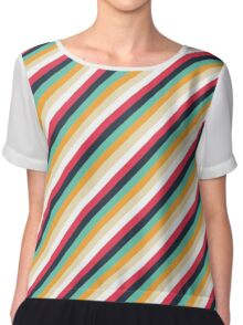 stripes Chiffon Top