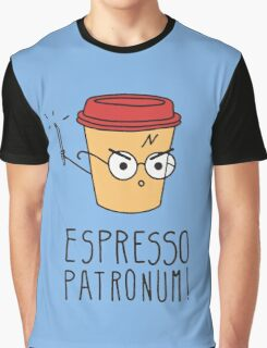 Harry Potter - Espresso Patronum  Graphic T-Shirt