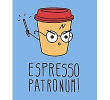 Harry Potter - Espresso Patronum  Photographic Print
