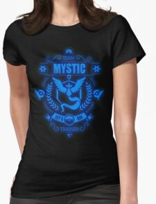 Team Mystic Trainer Lets Go Womens Fitted T-Shirt