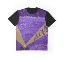 Lakers Poster Graphic T-Shirt