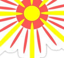 House of the Golden Flower Sticker