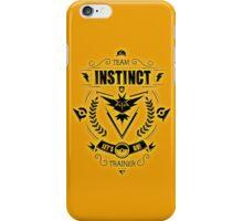 Team Instinct Trainer Lets Go iPhone Case/Skin