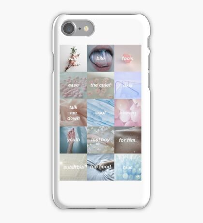 Troye Sivan Blue Neighbourhood songs iPhone Case/Skin