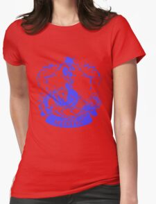 Team Mystic Blue Squad 0001 Womens Fitted T-Shirt