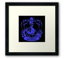 Team Mystic Blue Squad 0001 Framed Print