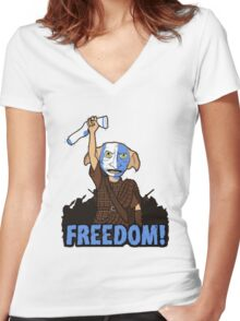 Harry Potter - Freedom Women's Fitted V-Neck T-Shirt