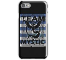 Team Mystic Blue full Stripes iPhone Case/Skin