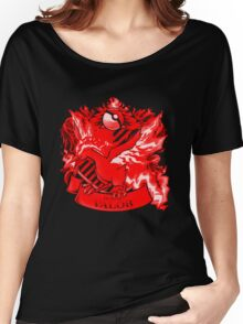 Team Valor Red Squad 0001 Women's Relaxed Fit T-Shirt