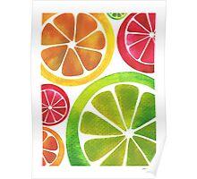 A Burst of Citrus Poster