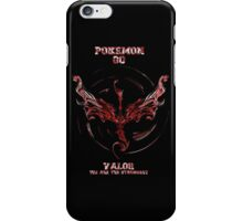 Valor we are the Strongest iPhone Case/Skin