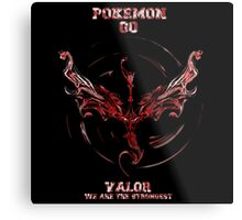 Valor we are the Strongest Metal Print