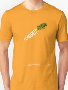 CARROT - - - - - - - EAT YOUR VEGETABLES Unisex T-Shirt