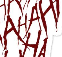 JOKER LAUGH (RED) TATTOO Sticker