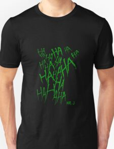 JOKER LAUGH (GREEN) TATTOO Unisex T-Shirt