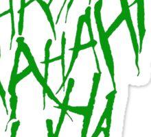 JOKER LAUGH (GREEN) TATTOO Sticker