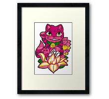 Lucky Chershire We're All Mad Here Framed Print