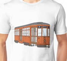 Car originally came from Milan Unisex T-Shirt