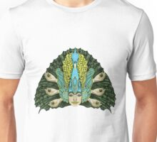 The Hierophant (Peacock warrior) Unisex T-Shirt