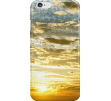 SUNBURST SUNRISE - Queensland, AUSTRALIA iPhone Case/Skin