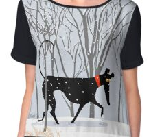 Winter Hound  Chiffon Top