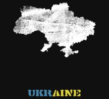 Ukraine map by vinainna