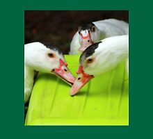Hungry Ducks Unisex T-Shirt