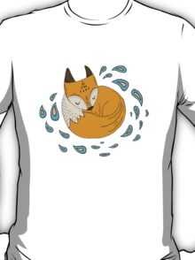 Sleepy fox T-Shirt