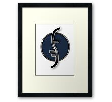 Partial Helix - Heroes Framed Print