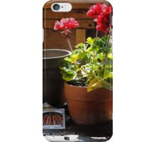 Potting Shed iPhone Case/Skin