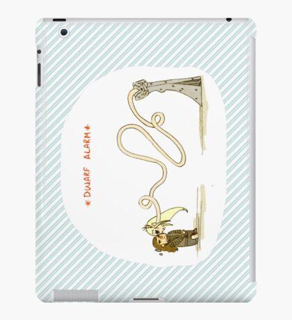 Dwarf Alarm iPad Case/Skin
