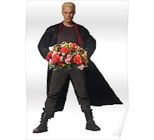 the big bad's back, and hes got flowers! Poster
