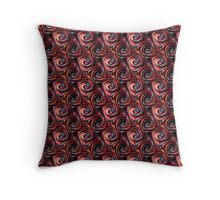 Twirls abstract - 1 (small) Throw Pillow