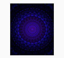 Mandala in dark blue tones Unisex T-Shirt