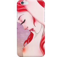 redhair  iPhone Case/Skin