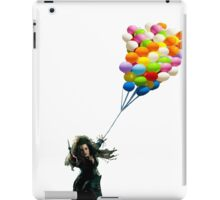bellatrix with balloons iPad Case/Skin