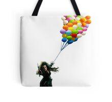 bellatrix with balloons Tote Bag