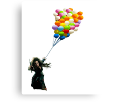 bellatrix with balloons Canvas Print