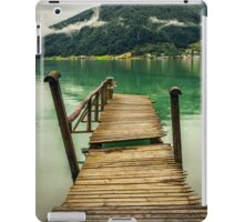 Pontoon by the fjord iPad Case/Skin