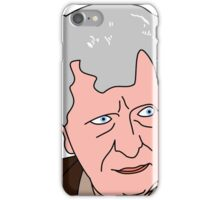 The Curator - Tom Baker Doctor Who 2 iPhone Case/Skin