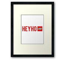 LEGO Framed Print