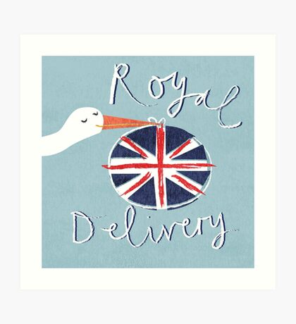 Royal Delivery Art Print