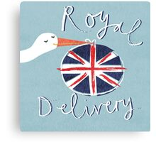 Royal Delivery Canvas Print