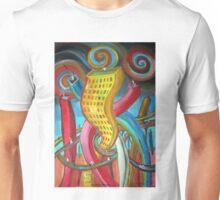 Ciudad feliz por Diego Manuel  Unisex T-Shirt