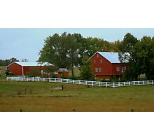 Country Life (SMALLTOWN USA series)  ^ Photographic Print