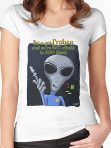 We've Got Probes Women's Fitted Scoop T-Shirt