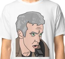 12th  Doctor Who The Caretaker 2 Classic T-Shirt