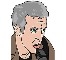 12th  Doctor Who The Caretaker 2 Photographic Print