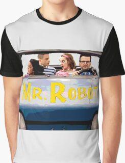 Mr Robot - Sitcom '80s '90s Graphic T-Shirt